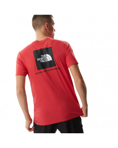 The North Face T-Shirt Redbox Rococco Red