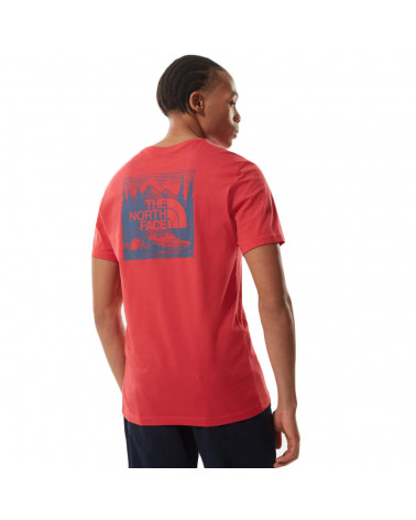 The North Face T-Shirt Redbox Celebration Rococco Red