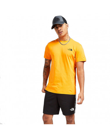 The North Face T-Shirt Simple Dome Light Exuberance Orange