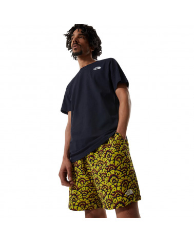The North Face Pantaloncini Class V Pull On Citronelle Green Ashbury Floral Print-Aviator Navy