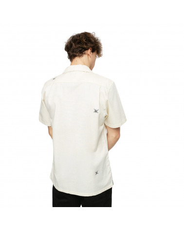Vans Shirt New Varsity Woven Seedpearl