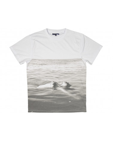 The Quiet Life - Float Tee - White