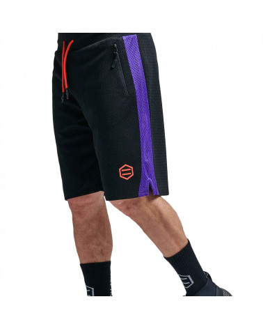 Dolly Noire Pantaloncin Mesh Shorts Black