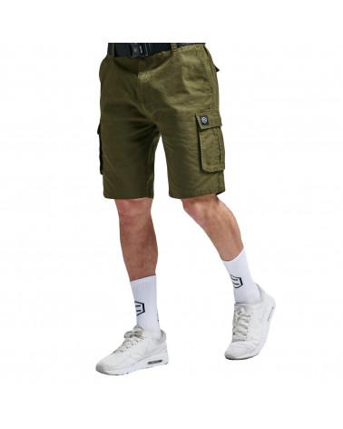 Dolly Noire Pantaloncini Cargo Ripstop Short Green