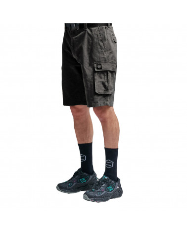 Dolly Noire Cargo Ripstop Short Antracite