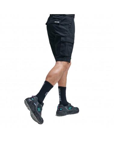 Dolly Noire Pantaloncini Cargo Ripstop Short Black