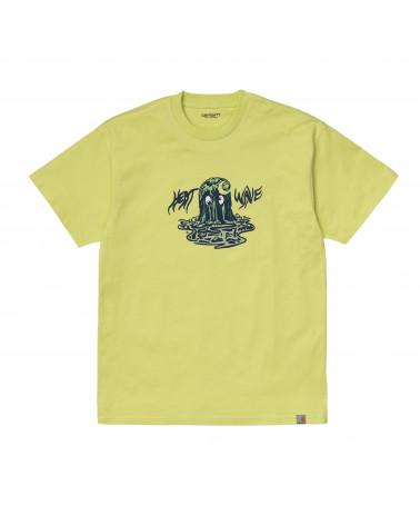 Carhartt Wip Heat Wave T-Shirt Limeade