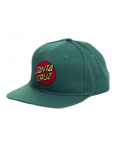Santa Cruz Cappello Classic Dot Snapback Evergreen