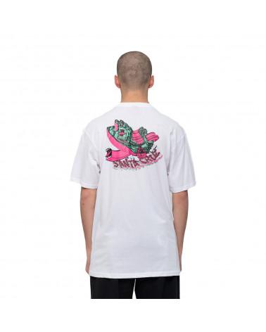 Santa Cruz No Pattern Screaming Hand T-Shirt White