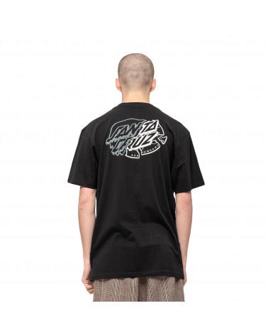Santa Cruz Universal Dot T-Shirt Black