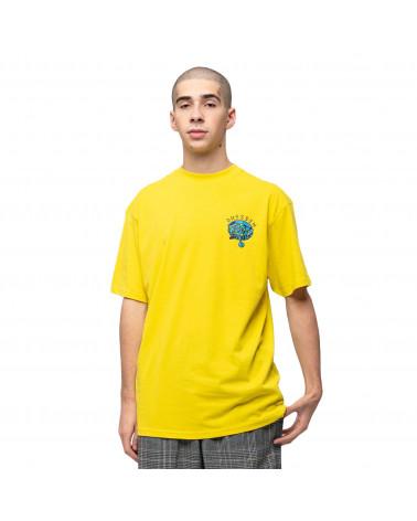 Santa Cruz Dressen Pup Dot T-Shirt Blazing Yellow