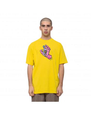 Santa Cruz Scales Screaming Hand T-Shirt Blazing Yellow