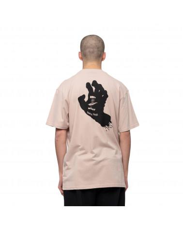 Santa Cruz Contra Hand Mono T-Shirt Mushroom