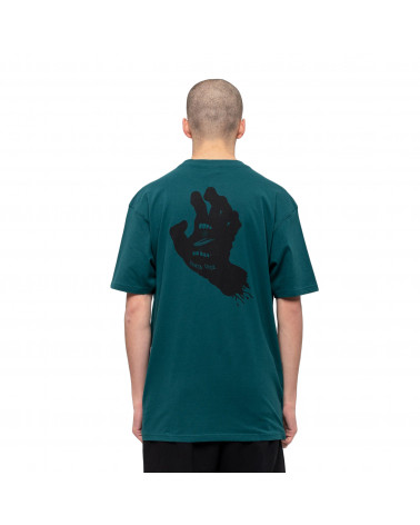 Santa Cruz Contra Hand Mono T-Shirt Teal