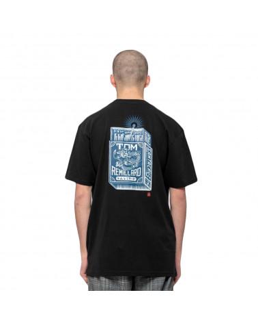 Santa Cruz Remillard Mako Matchbox T-Shirt Black