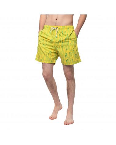 Santa Cruz Slime Swim Shorts Green