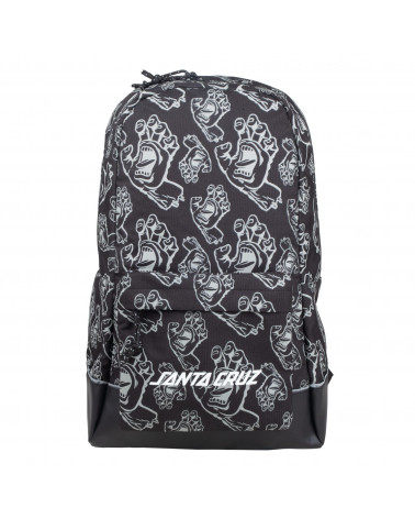 Santa Cruz Drift Backpack Black Hands All Over