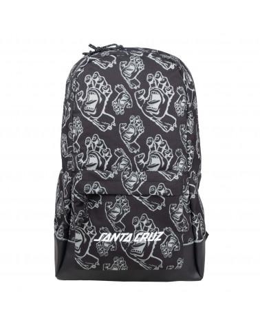 Santa Cruz Zaino Drift Backpack Black Hands All Over