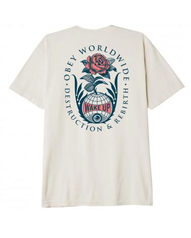 Obey Destruction & Rebirth Classic T-Shirt Cream