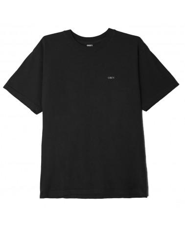 Obey Burn Baby Burn Classic T-Shirt Black