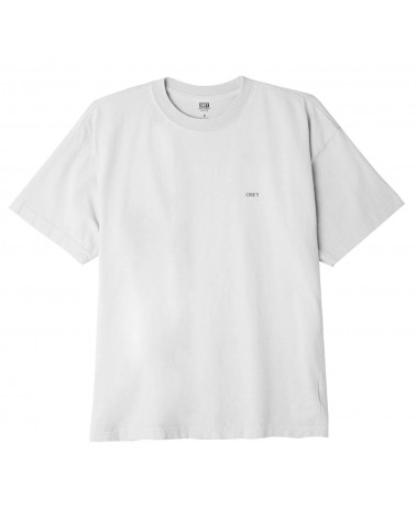 Obey Rise Above Rose Classic T-Shirt White