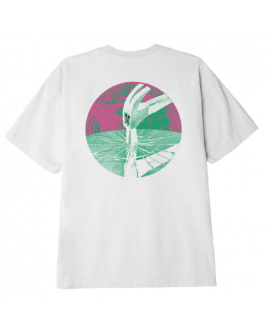 Obey Shattered Trance Classic T-Shirt White