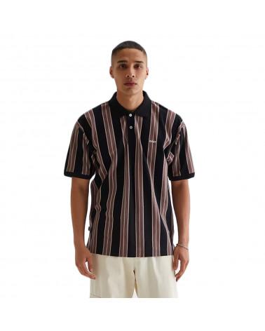 Obey Earl Polo Black Multi