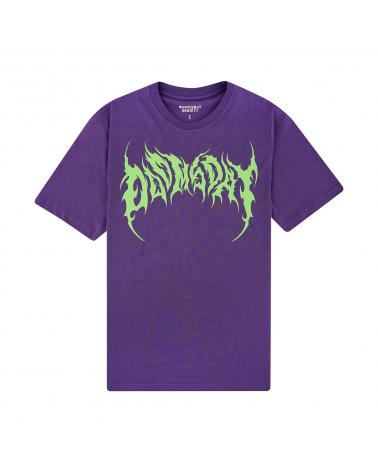Doomsday Dark T-Shirt Purple