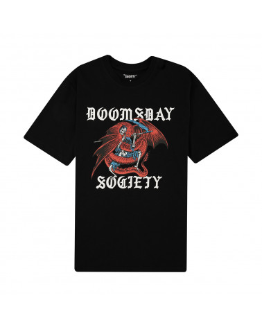 Doomsday Trapped T-Shirt Black