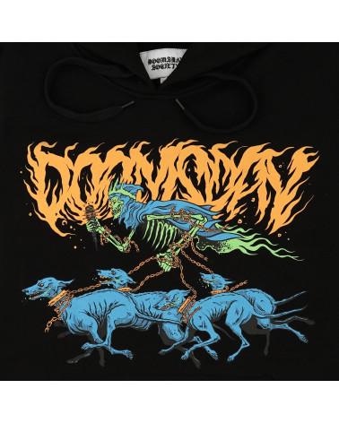 Doomsday Death Hound Hoodie Black