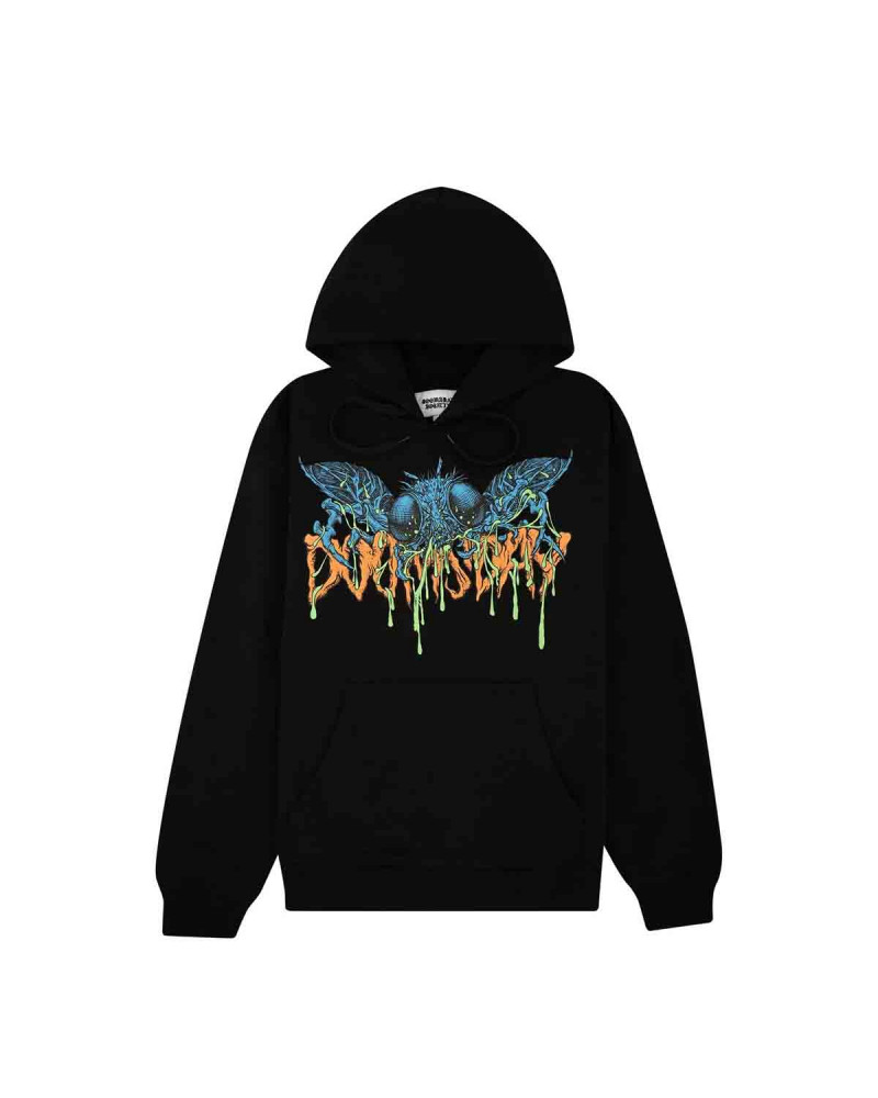 Doomsday The Fly Hoodie Black