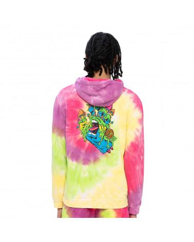 Santa Cruz Sweatshirt Toxic Hand Hoodie Psychedelic