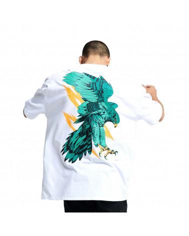 Dolly Noire T-Shirt Falco Pellegrino White