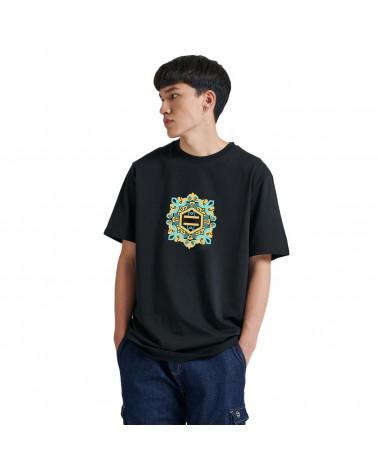Dolly Noire T-Shirt Logo Maiolica Black/Green