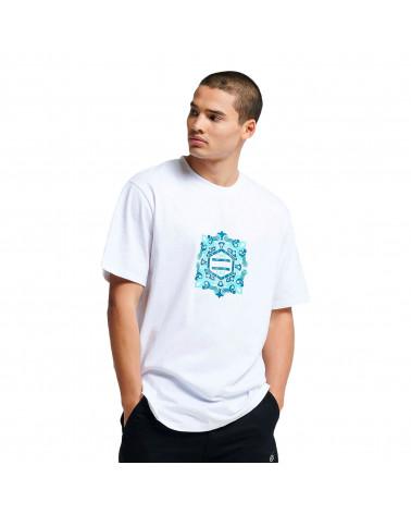 Dolly Noire T-Shirt Logo Maiolica White/Blue