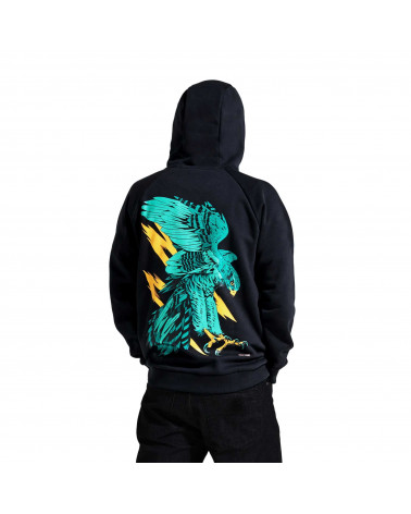 Dolly Noire Sweatshirt Falco Pellegrino Hoodie Black