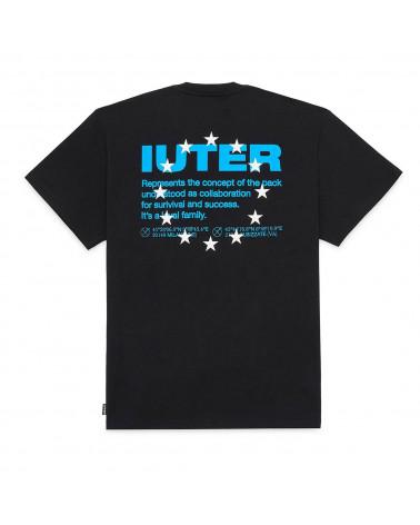 Iuter T-Shirt Info Tee Black