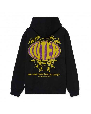 Iuter Sweatshirt Hungry Hoodie Black