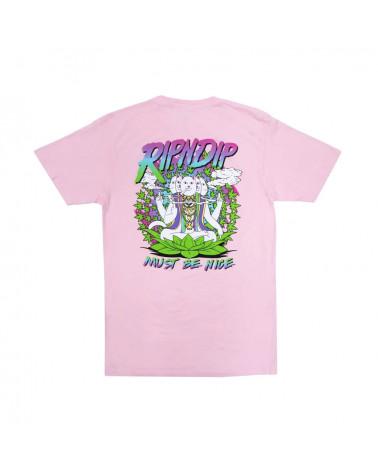 RIPNDIP T-Shirt Chaka Bar Tee Light Pink