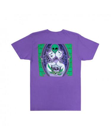 RIPNDIP T-Shirt Firewire Tee Light Purple
