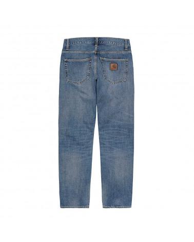 Carhartt WIP Jeans Klondik Pant Blue Mid Used Wash
