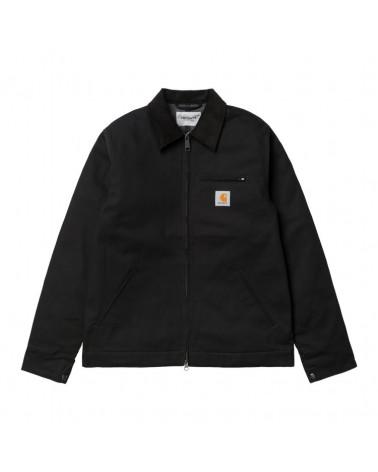 Carhartt Wip Detroit Jacket (Winter) Black/Black Rigid