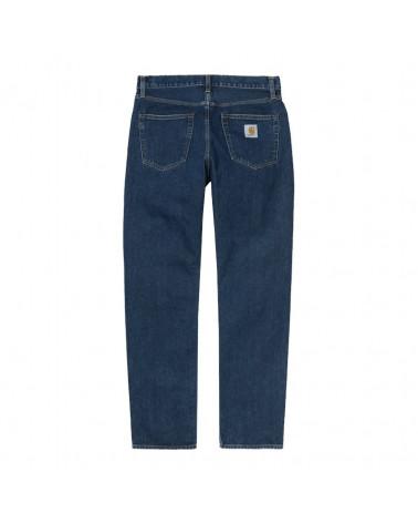Carhartt Wip Jeans Pontiac Pant Blue Stone Washed