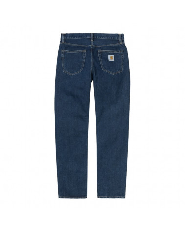 Carhartt Wip Pontiac Pant Blue Stone Washed