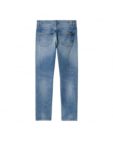 Carhartt Wip Jeans Vicious Pant Blue-Light Used Wash