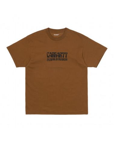Carhartt Wip Removals T-Shirt Tawny/Black