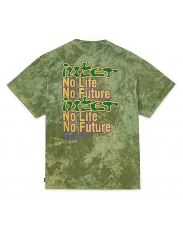 Iuter T-Shirt No Future Tee Army