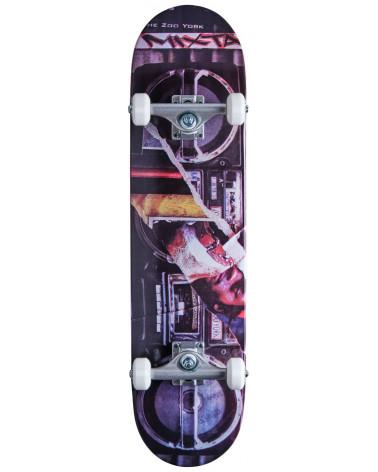 "Zoo York Boom Box Complete Skateboard 7.75"""