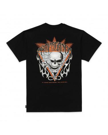 Propaganda T-Shirt Skeleton Tee Black
