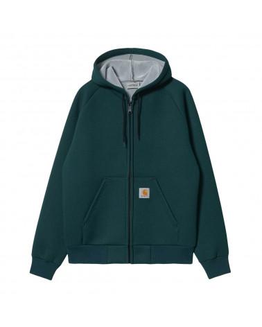 Carhartt Wip Car-Lux Hooded Jacket Frasier/Grey